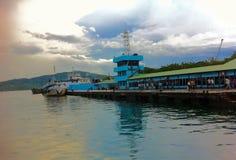 Puerto Blair Jetty Imágenes de archivo libres de regalías