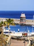 Puerto Calero, Lanzarote fotografia de stock