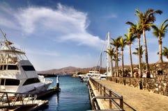 Puerto Calero in Lanzarote Royalty Free Stock Image
