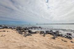 Puerto Chino Beach ,Galapagos Stock Image