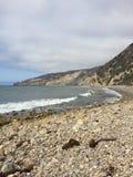 Puerto chino de Santa Cruz Island Imagen de archivo libre de regalías