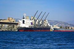 Puerto comercial Fotografía de archivo libre de regalías
