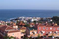 Puerto de Λα Cruz, Tenerife, Κανάριο νησί, Ισπανία Στοκ Εικόνες
