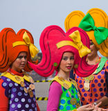 PUERTO DE ЛА CRUZ, ИСПАНИЯ - 16-ое февраля: участники подготовляют и Стоковые Изображения RF