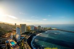Puerto De Ла Cruz Стоковая Фотография RF
