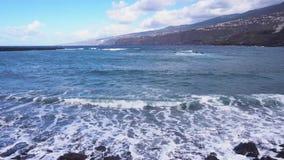 Puerto de Ла Cruz, Tenerife сток-видео