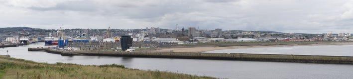 Puerto de Aberdeen Imagen de archivo libre de regalías