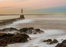 Puerto de Aberdeen Fotos de archivo