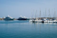 Puerto de Acciaroli Foto de archivo