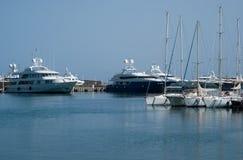 Puerto de Acciaroli Fotos de archivo
