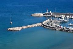 Puerto de Acciaroli Fotografía de archivo libre de regalías