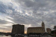 Puerto de Acciaroli Imágenes de archivo libres de regalías