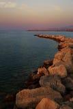 Puerto de Agios Nikolaos Crete fotografía de archivo libre de regalías