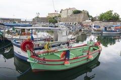 Puerto de Ajacio Imágenes de archivo libres de regalías