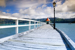 Puerto de Akaroa Fotografía de archivo