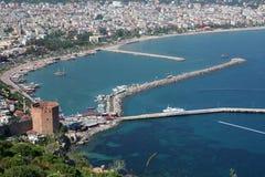 Puerto de Alanya fotografía de archivo libre de regalías