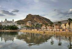Puerto de Alicante Foto de archivo