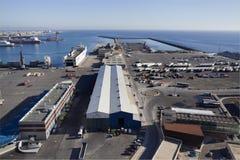 Puerto de Almería Fotografía de archivo libre de regalías