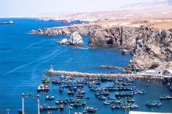 Puerto de arequipa Peru hav royaltyfria bilder