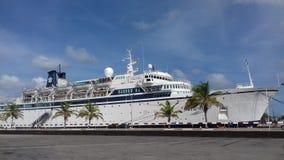 Puerto de Aruba Fotografía de archivo libre de regalías