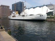 Puerto de Baltimore fotografía de archivo libre de regalías