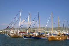Puerto de Bodrum fotografía de archivo libre de regalías