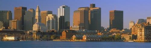 Puerto de Boston Imágenes de archivo libres de regalías