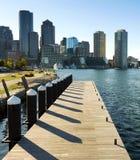 Puerto de Boston foto de archivo
