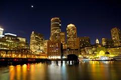 Puerto de Boston Fotografía de archivo