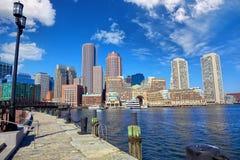 Puerto de Boston foto de archivo libre de regalías