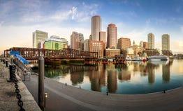 Puerto de Boston fotografía de archivo libre de regalías