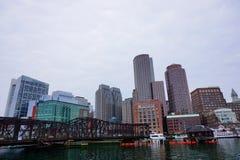 Puerto de Boston Imagen de archivo
