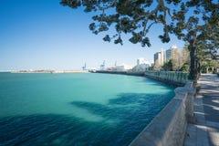 Puerto de Cádiz Fotografía de archivo libre de regalías