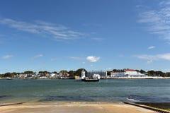 Puerto de cadena de Poole del viaje en transbordador Foto de archivo