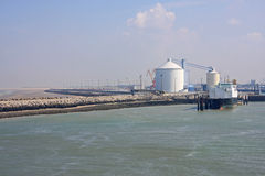Puerto de Calais Imagen de archivo libre de regalías