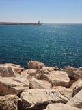 Puerto de Cambrils (España) Imágenes de archivo libres de regalías