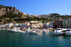 Puerto de Capri Imagenes de archivo