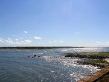 Puerto de Charleston Imágenes de archivo libres de regalías