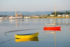 Puerto de Cheticamp Imagen de archivo