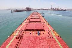 Puerto de China Qingdao Imagen de archivo libre de regalías