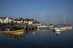 Puerto de Christchurch del club de la navegación de Christchurch fotos de archivo libres de regalías
