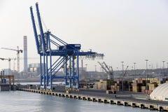 Puerto de Civitavecchia Imagen de archivo