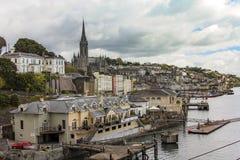 Puerto de Cobh, Irlanda Fotos de archivo libres de regalías