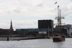 Puerto de Copenhague fotos de archivo libres de regalías