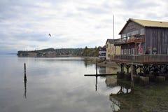 Puerto de Coupeville Fotos de archivo libres de regalías