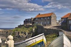 Puerto de Craster Imagenes de archivo