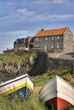 Puerto de Craster Fotos de archivo libres de regalías