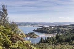 Puerto de Crinan en Argyll del oeste en Escocia Fotos de archivo libres de regalías