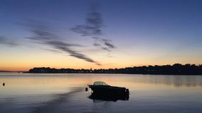 Puerto de Croacia del arte del barco Imágenes de archivo libres de regalías