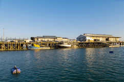 Puerto de Darwin Fotos de archivo libres de regalías